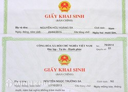 <strong>Cấp</strong> <strong>lại</strong> Giấy khai sinh?