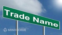 Consulting services for registration of trade names