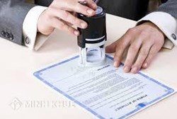 Notary services of Minh Khue Law Firm at home