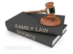 Lawyer services for defense the interests and litigation in marriage and family cases