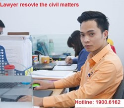 Lawyer services participate in resolving civil matters, civil disputes