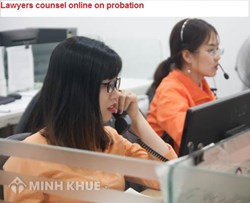 Lawyers counsel online on probation and conditions for being entitled to probation
